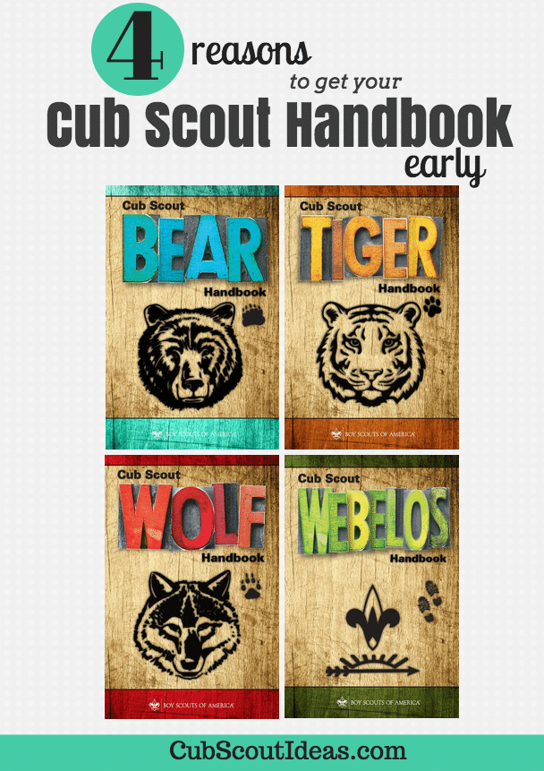 4 Reasons Why You Should Buy Your Cub Scout Handbook in the Summer