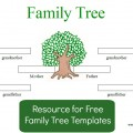 family tree template image
