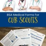 BSA medical form