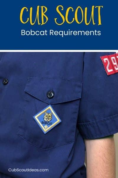 Cub Scout Bobcat Requirements