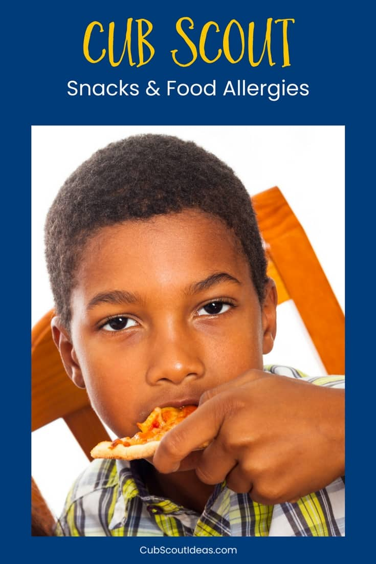 Cub Scout snacks and allergies p