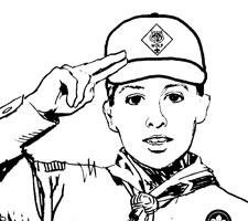 Cub Scout salute