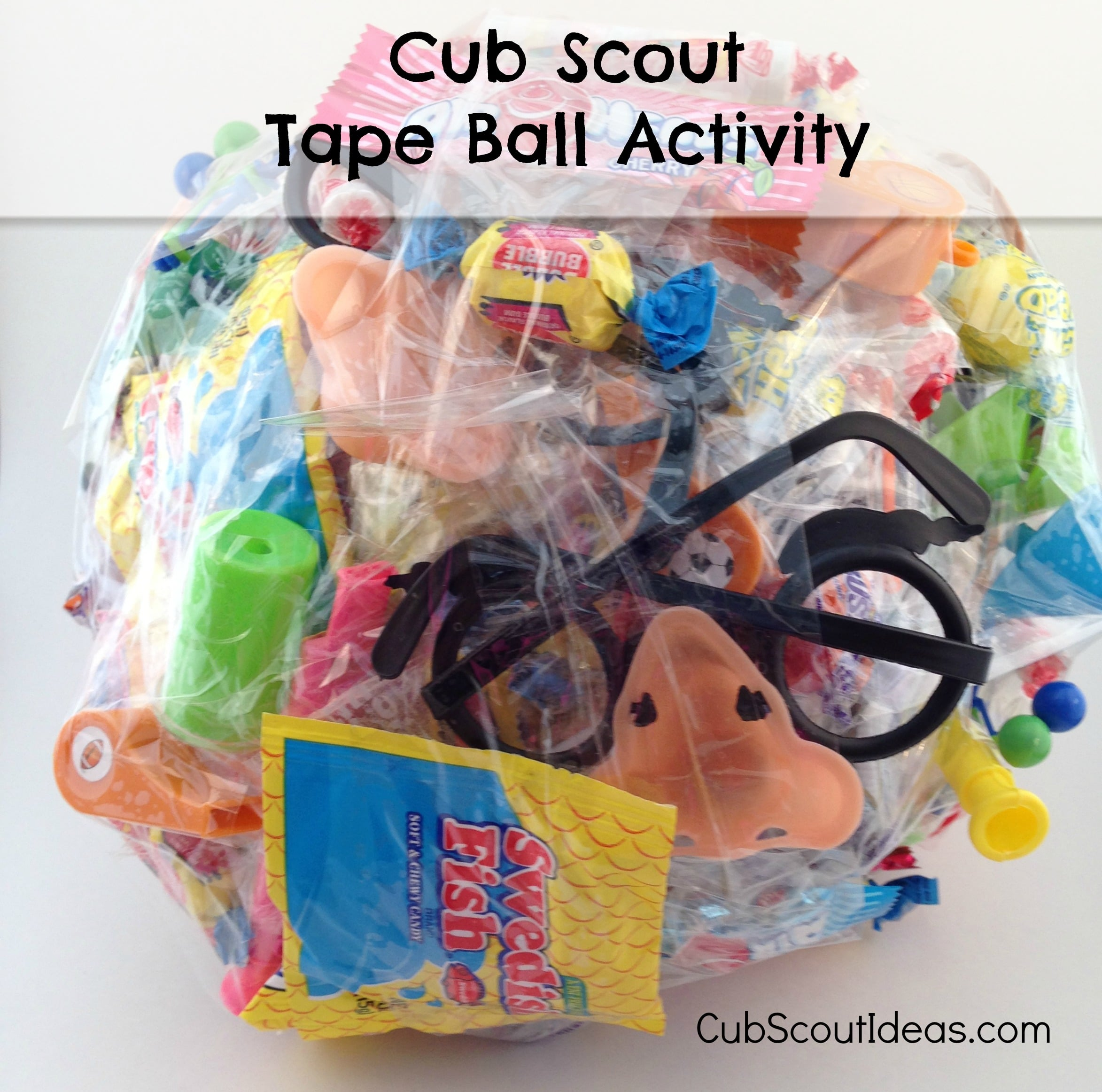 How to Make a Tape Ball for Cub Scout Activities