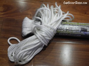 Rope for Knot Tying