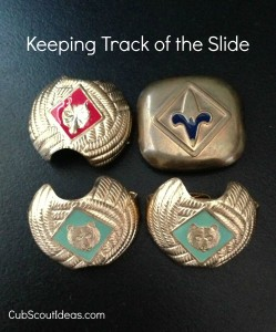 Cub Scout neckerchief slide