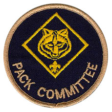 cub scout pack committee chair patch