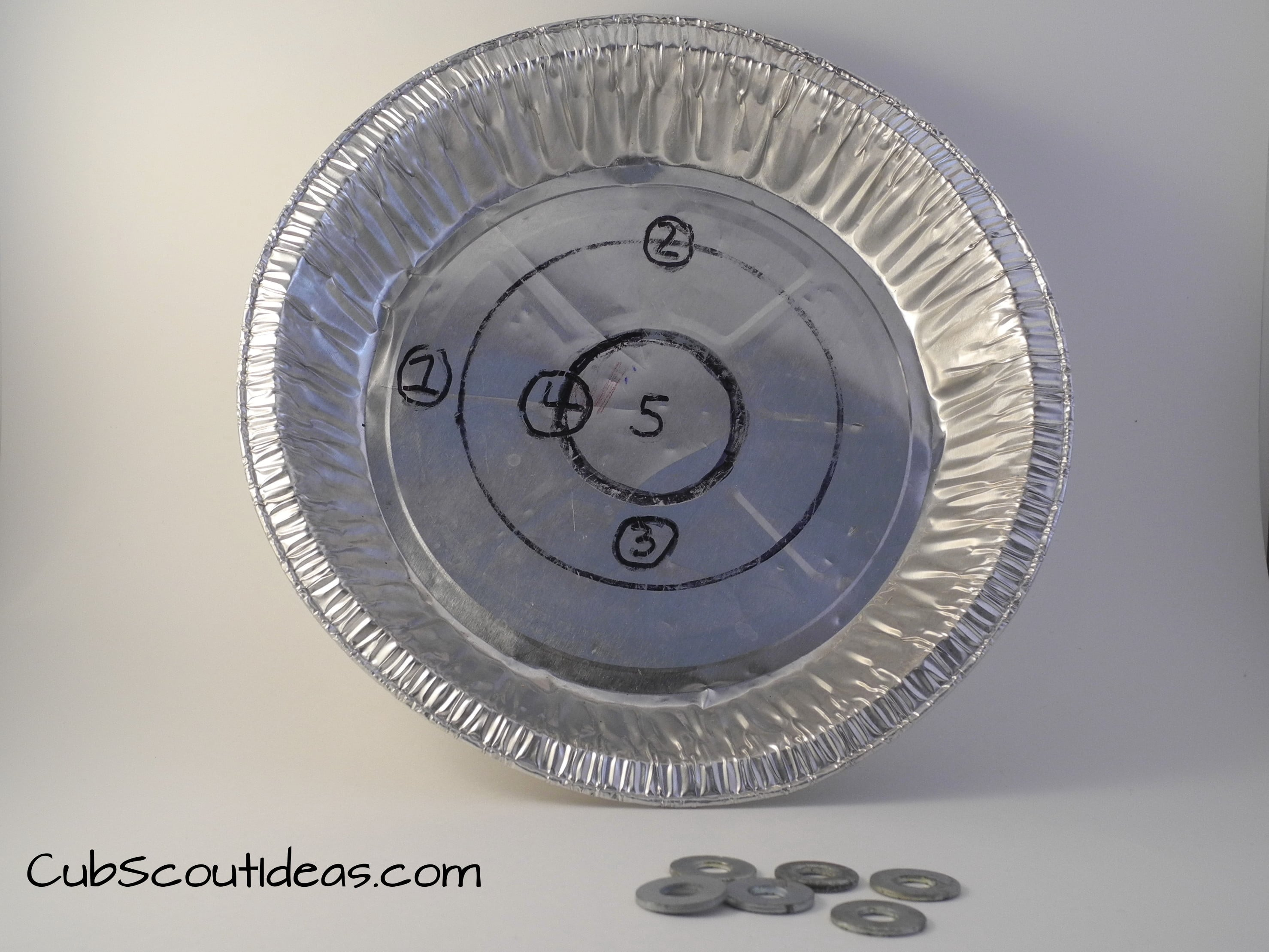 cub scout pie plate game