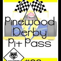 How to Make a Cool Cub Scout Pinewood Derby Pit Pass