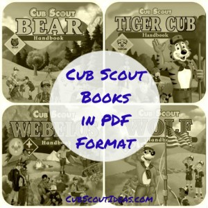 Cub Scout Books in PDF Format online