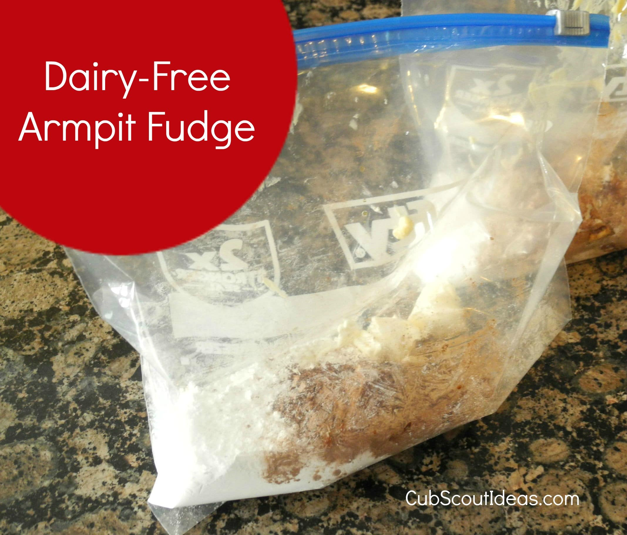 How to Make Dairy-Free Armpit Fudge