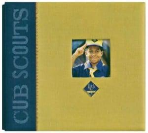 Cub Scout scrapbook