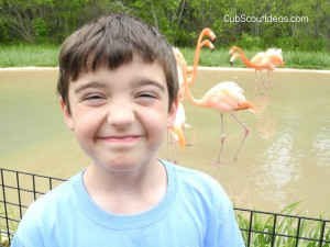 Cub Scout Gathering Activity: Smile Game