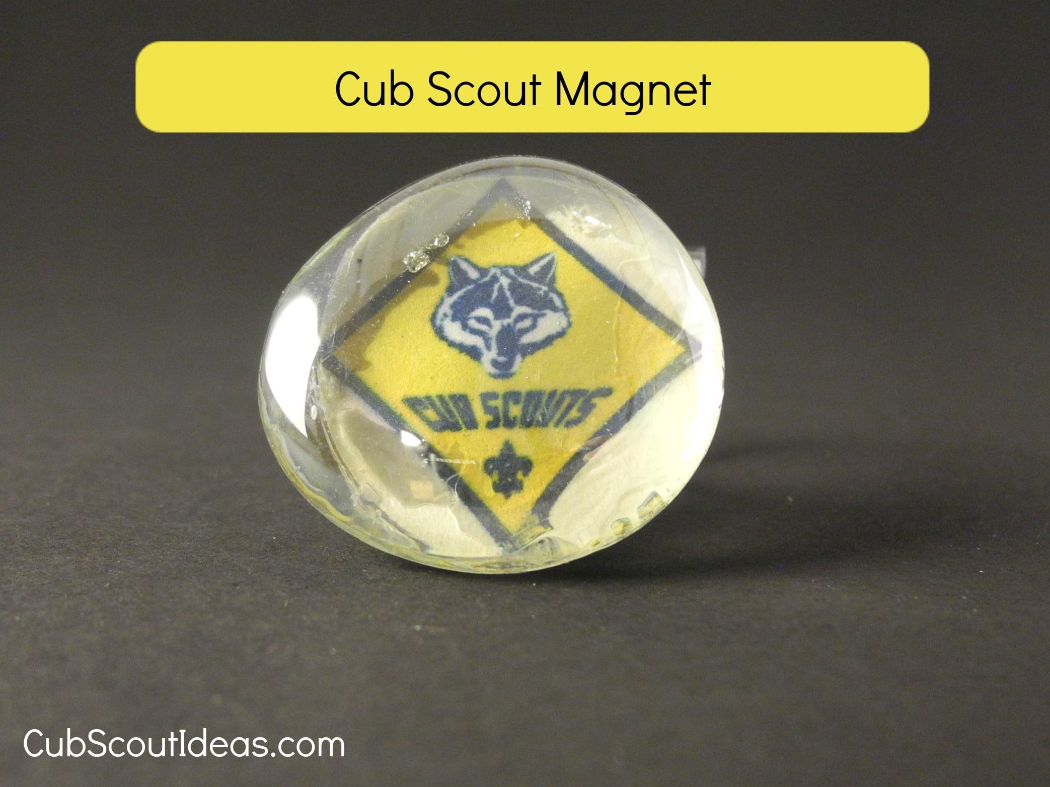 cub scout magnet