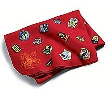 Cub Scout patch blanket