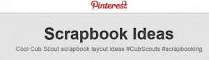 pinterest scrapbooking layout