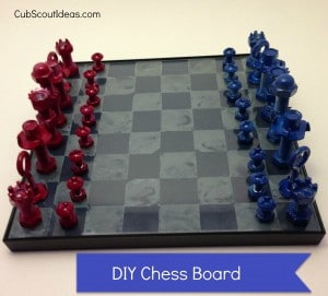 chess board  webelos craftsman