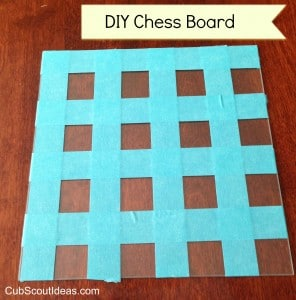 Cub Scout Project Idea Diy Chess Board Cub Scout Ideas