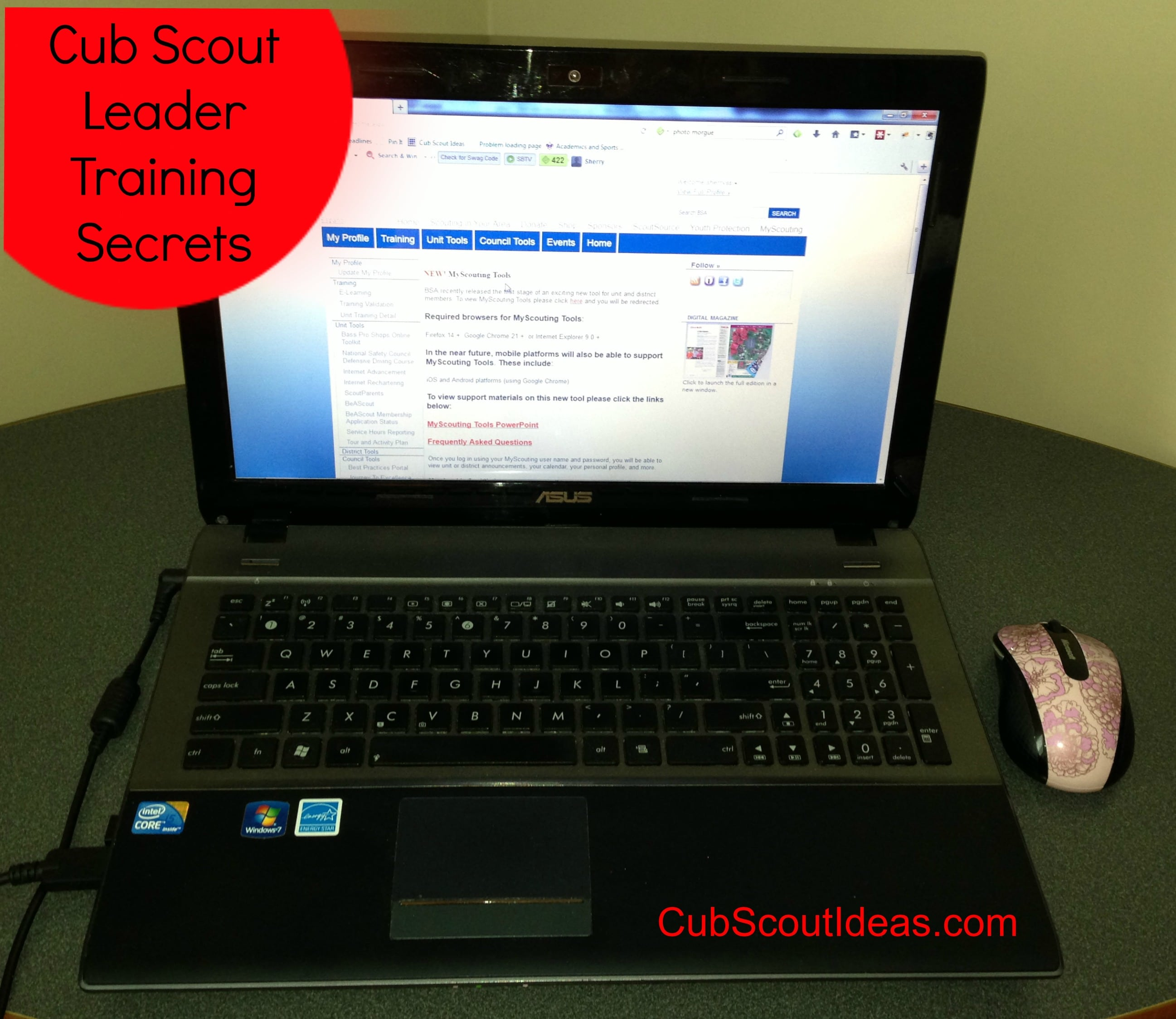 Cub Scout leader training secrets