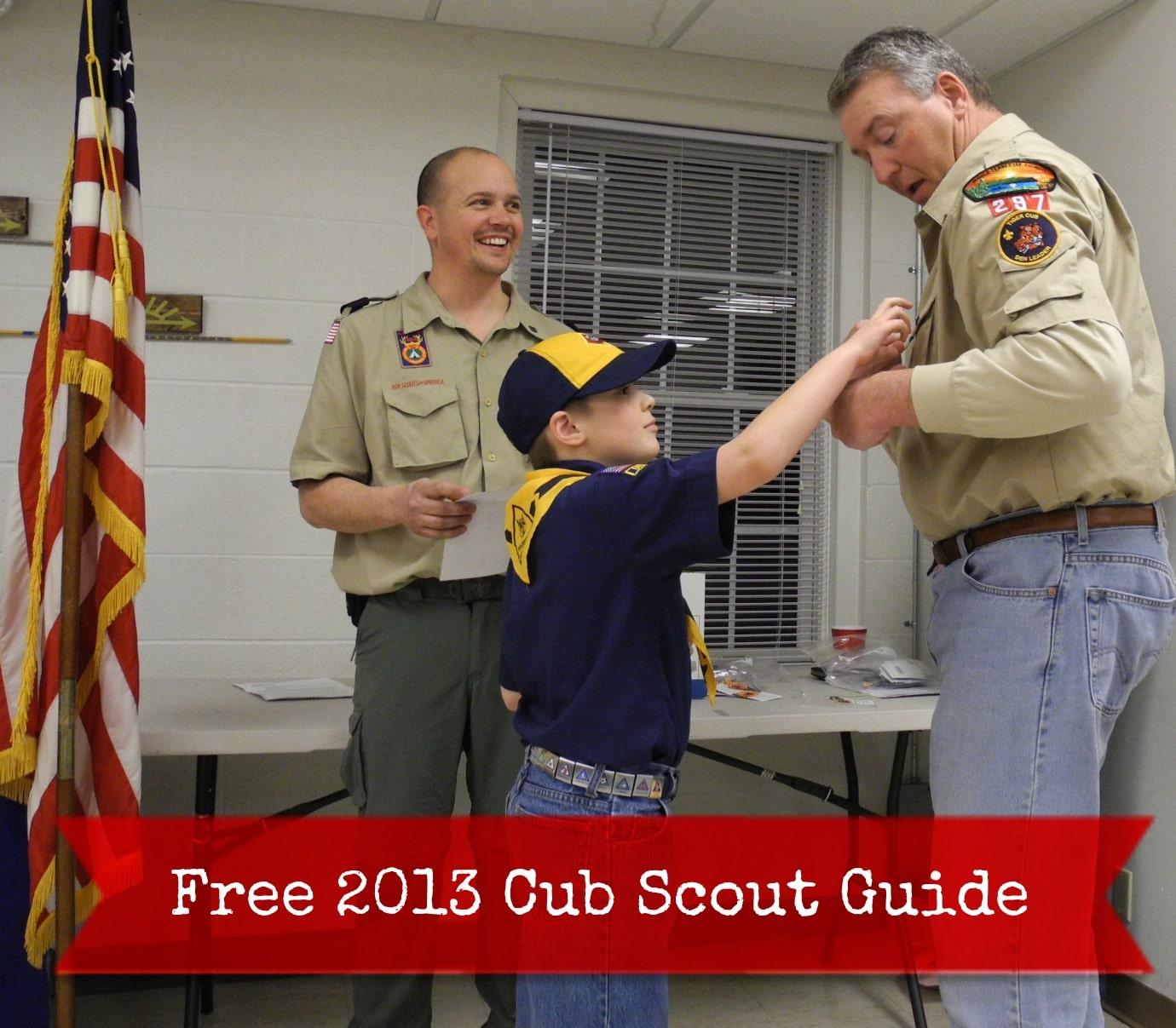 cub scout guide cubs