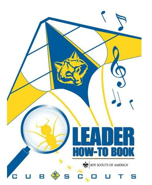 cub scout leader book