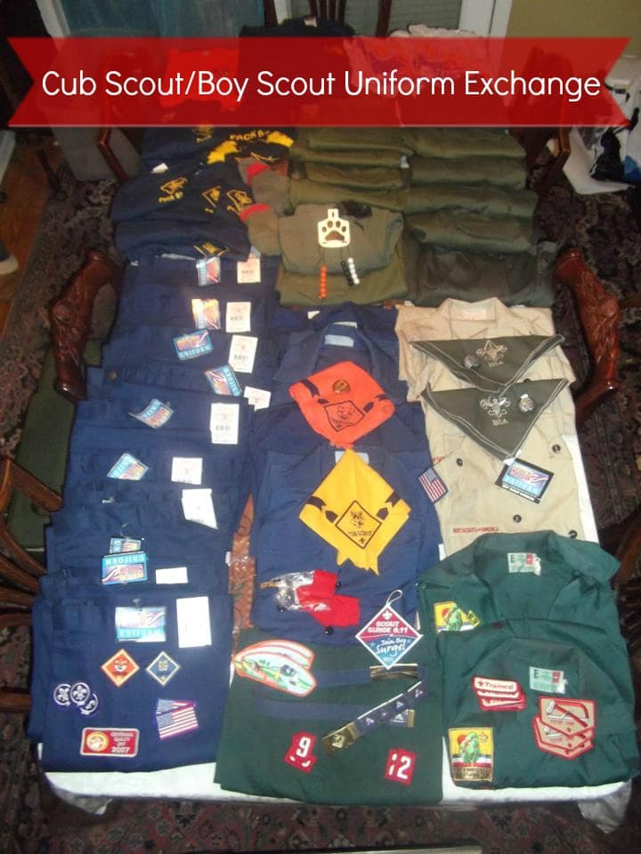 cub scout uniform exchange