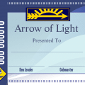 arrow of light template