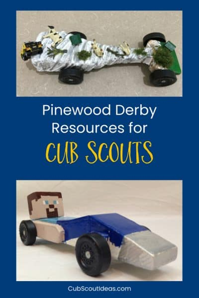 Pinewood Derby Resources for Cub Scouts