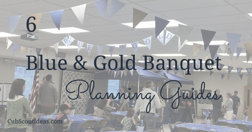 blue and gold banquet planning guides