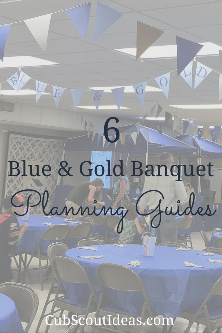 Learn how to plan your Cub Scout Blue & Gold banquet with these 6 guides. Whether simple or elaborate, these guides will make it easy for you to plan and implement the best Blue & Gold banquet pack meeting ever! The boys and girls will have fun at your awesome Cub Scout birthday party. #CubScouts #CubScout #Scouting #Webelos #ArrowOfLight #DenLeader #BlueAndGold #Banquet