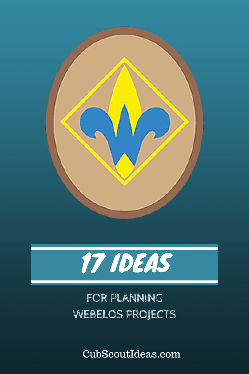 17 Ideas for Planning Webelos and Arrow of Light Projects