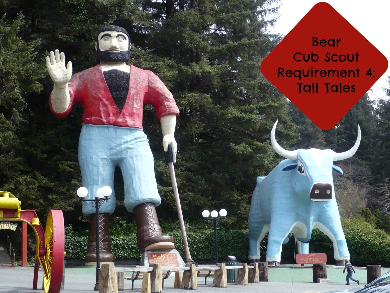 cub scout tall tales