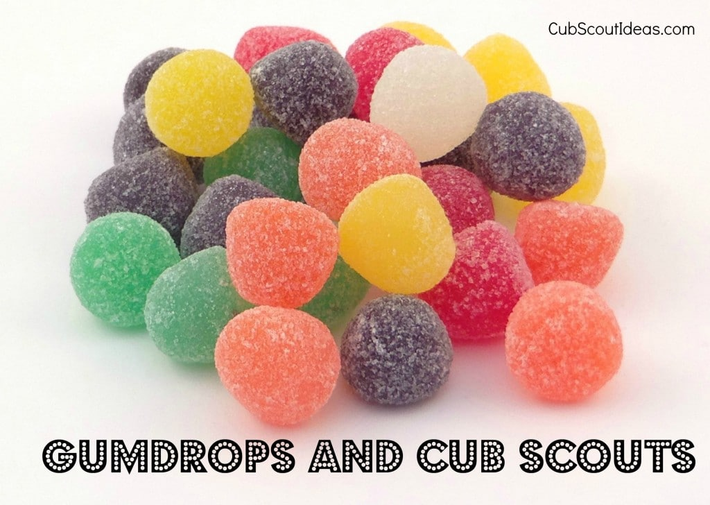 Using Gumdrops with Cub Scouts