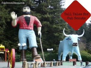 tall tales for cub scouts