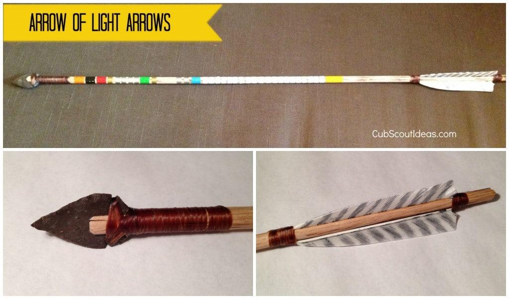 vince's arrow of light arrows