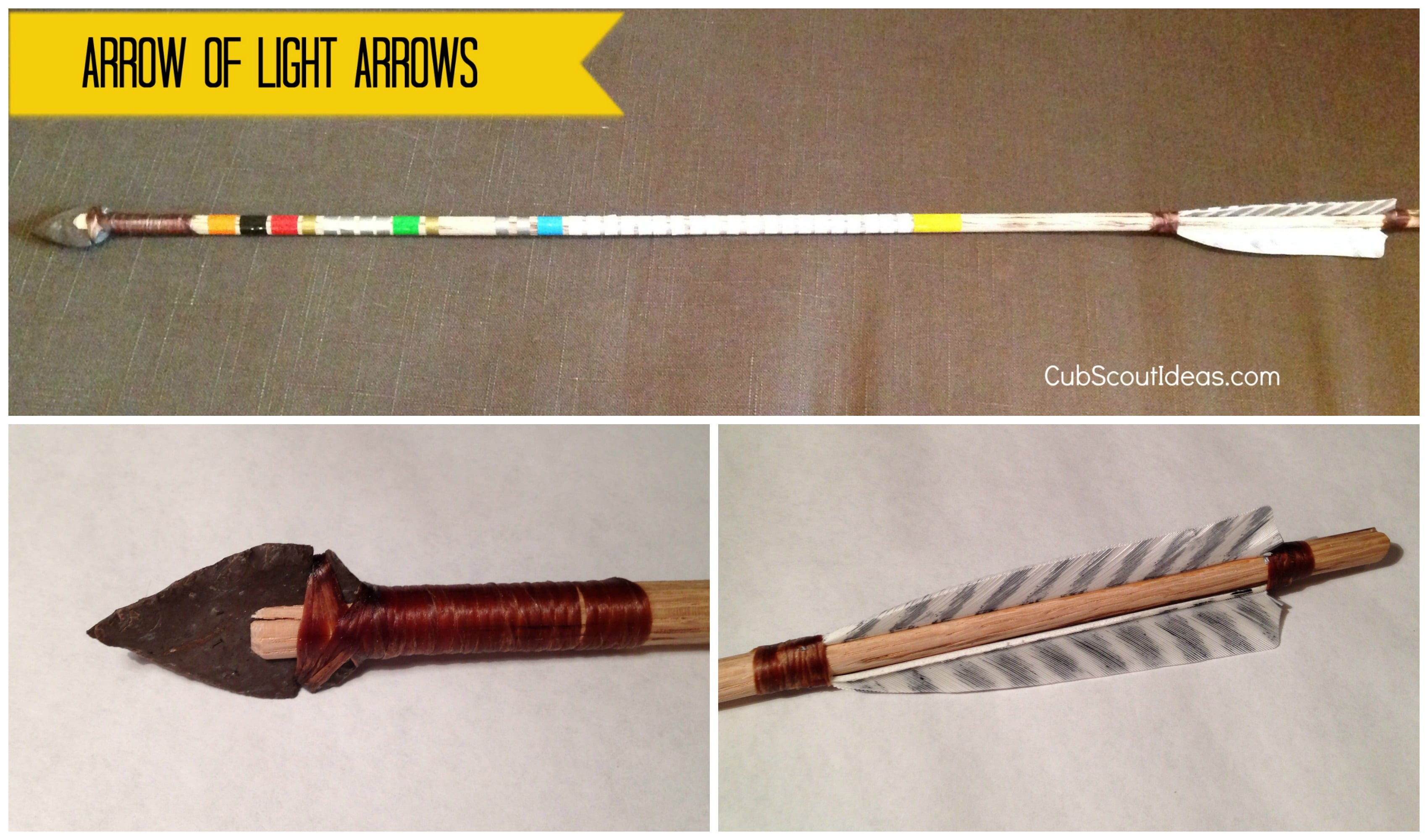 Great Arrow of Light Arrows:  Review of Vince's Arrows