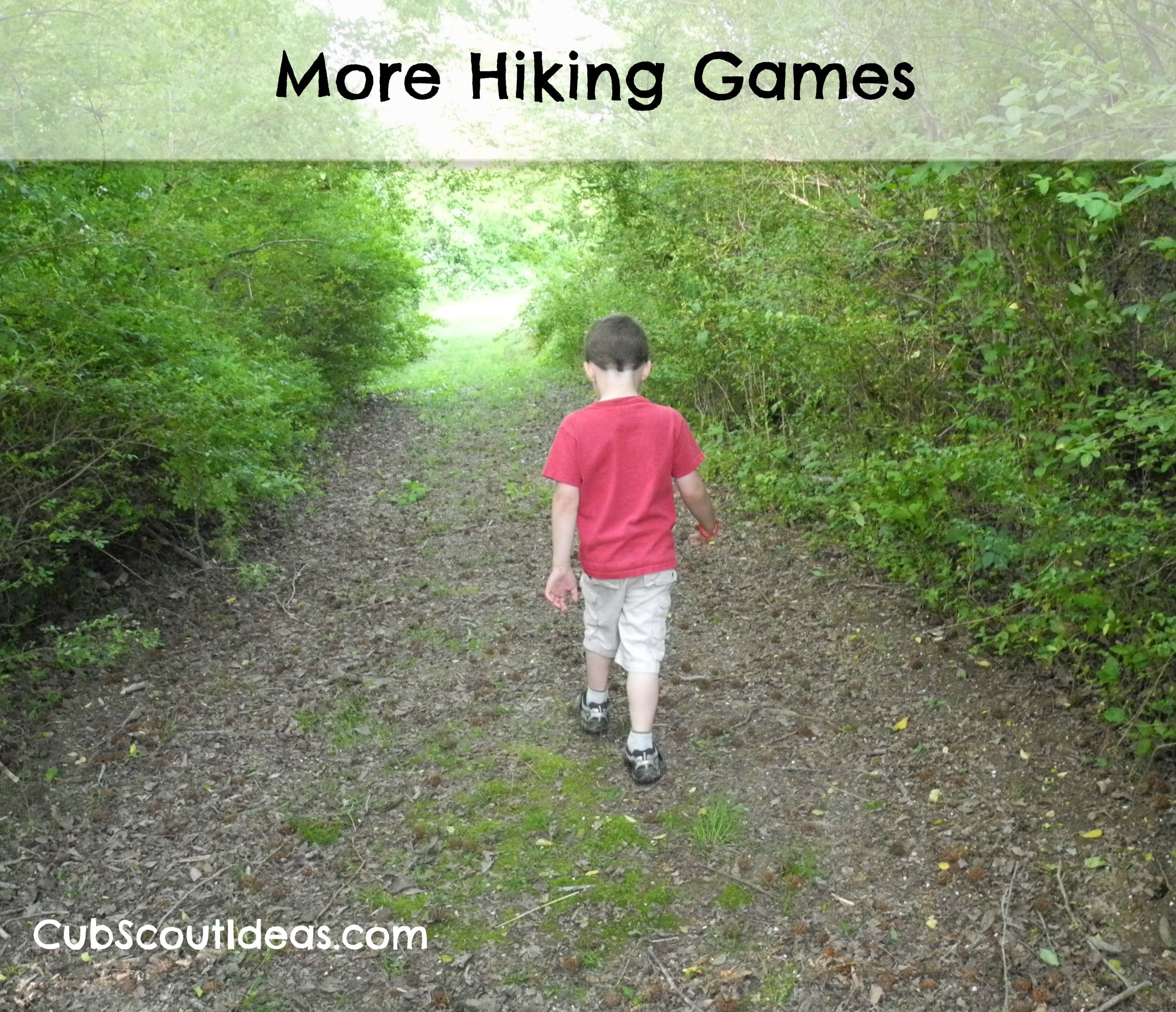 cub scout more hiking games
