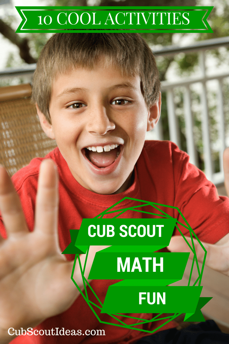 cub scout math fun