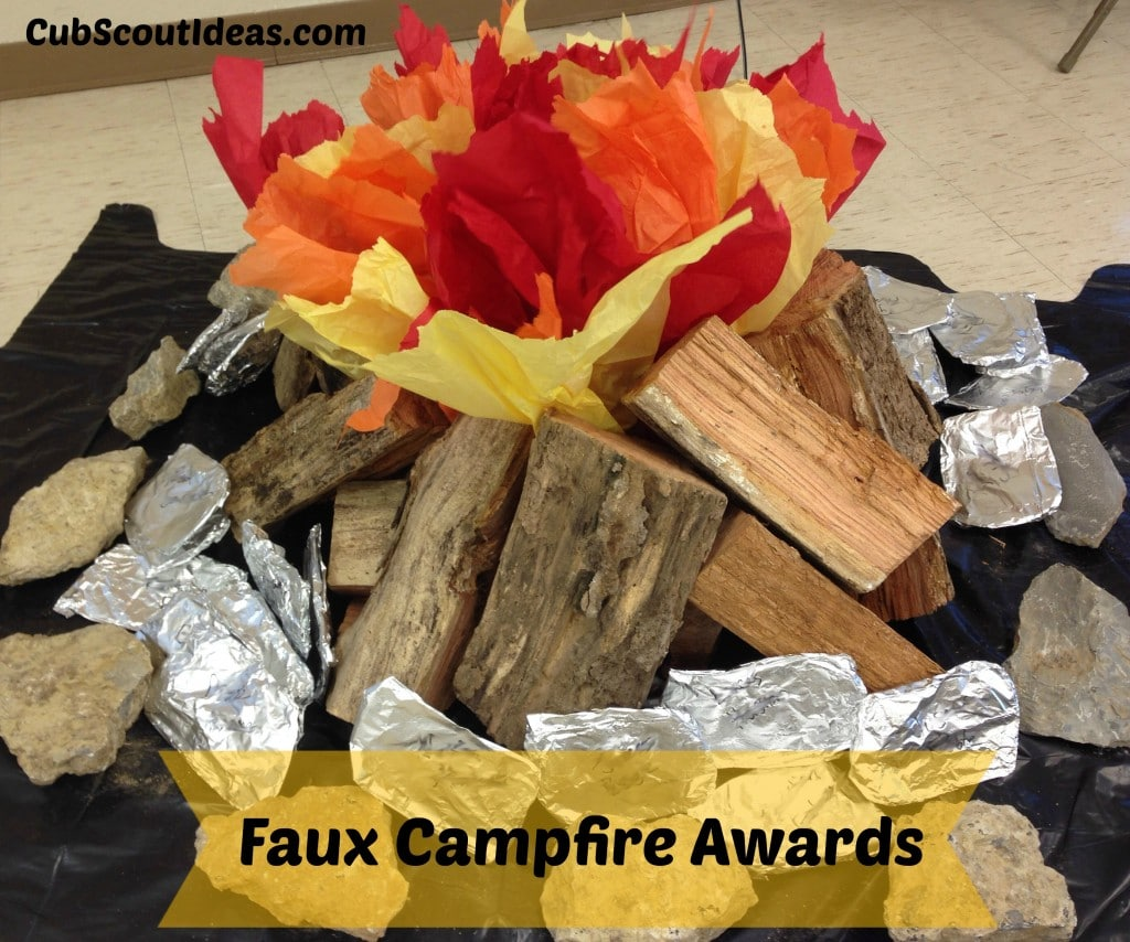 faux campfire awards