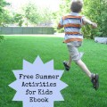 free summer activities for kids ebook