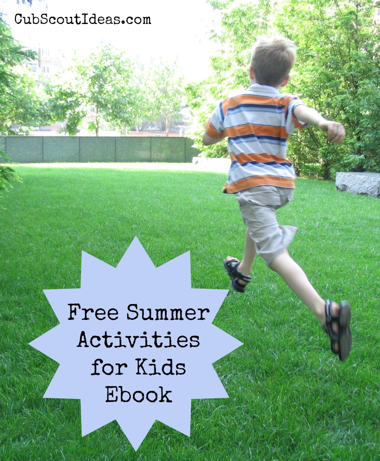 cub scout free summer activities