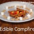cub scout edible campfire