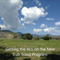 cub scout new program