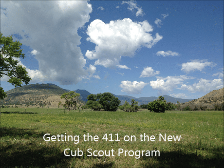 New Cub Scout Program 2015: Interview from Philmont