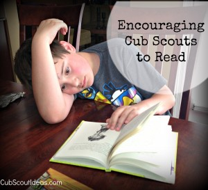 encouraging cub scouts to read