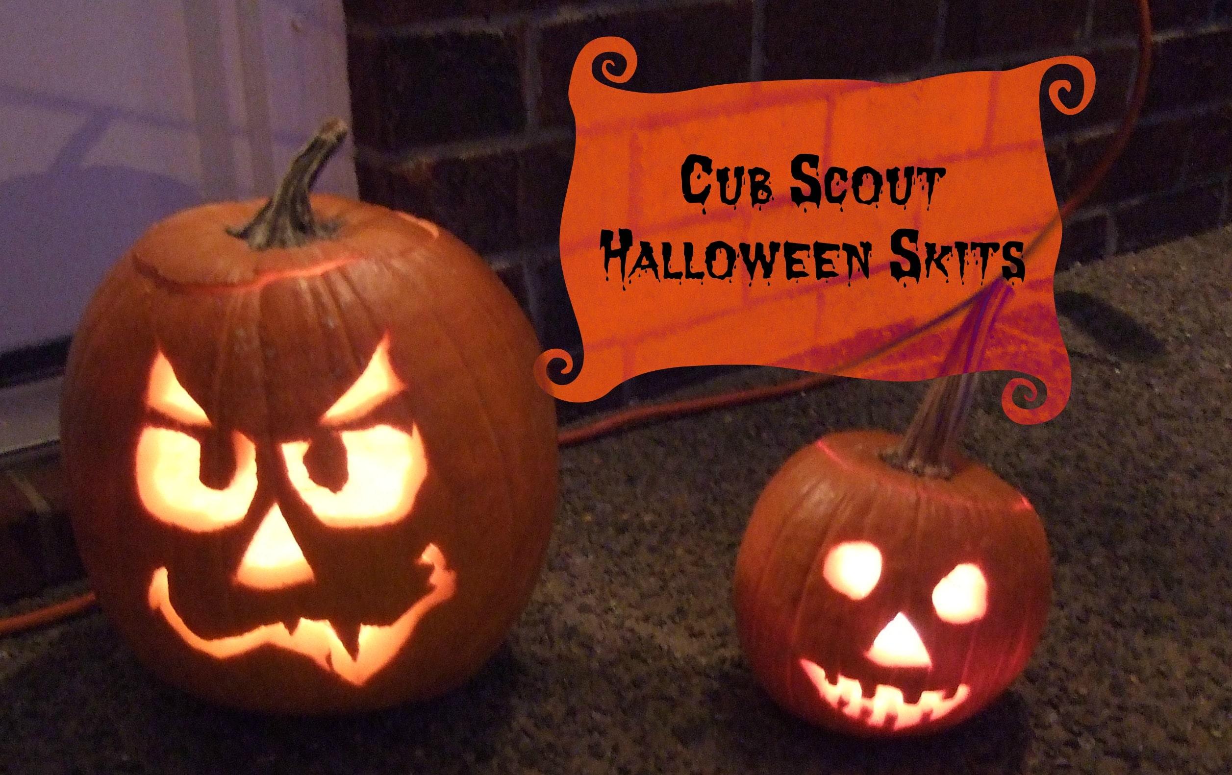 Cub Scout Halloween Skits