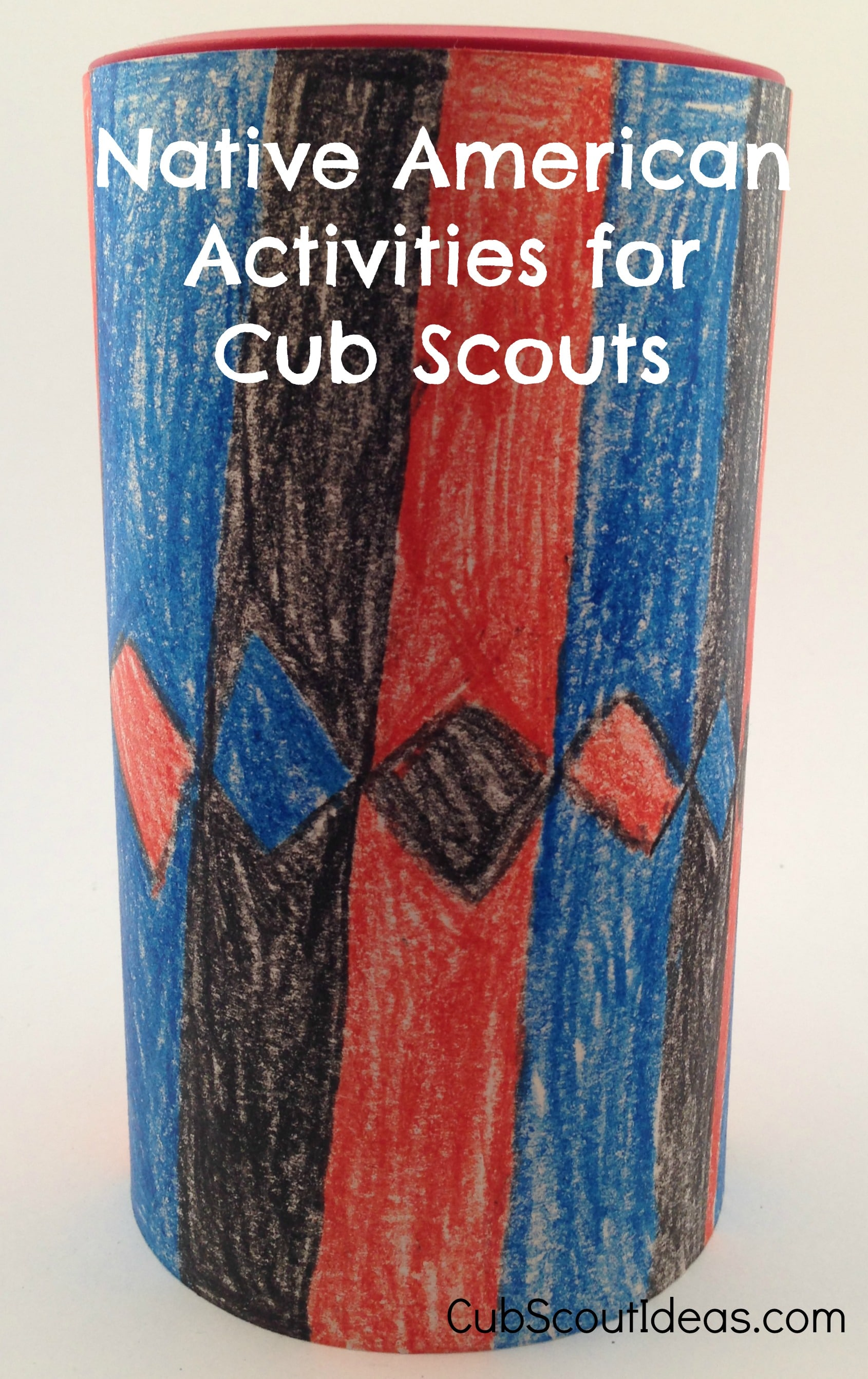 cub scout native american activities