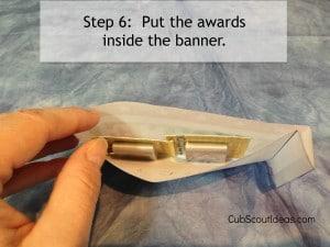 vote banner step 6