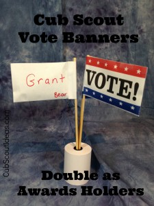 vote banners