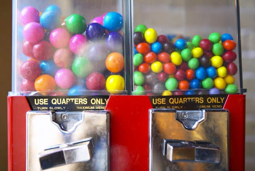 bubble gum machines