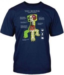 creeper tshirt